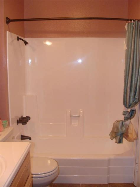 pkb reglazing fiberglass bathtub shower unit reglazed