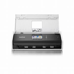 brother ads1600 compact document scanner staplesr With scan large documents staples