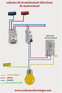 Cablage Bouton Poussoir : sch ma electrique simple d tecteur de mouvement sch ma electrique d tecteur avec interrupteur ~ Nature-et-papiers.com Idées de Décoration