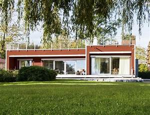 Holz Fertighaus Bungalow : bungalow am see baufritz fertighaus ~ Markanthonyermac.com Haus und Dekorationen