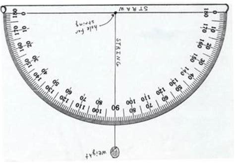 homemade clinometer