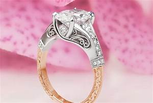 Rose gold engagement rings in kansas city for Wedding rings kansas city
