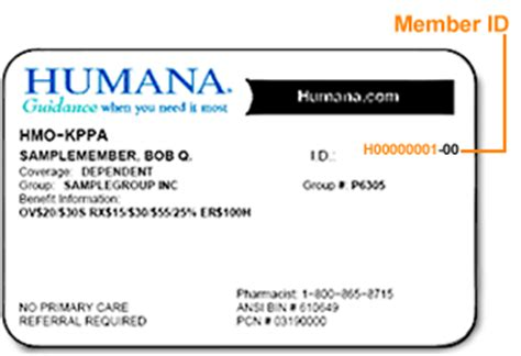 humana phone number find policy number humana insurance card infocard co