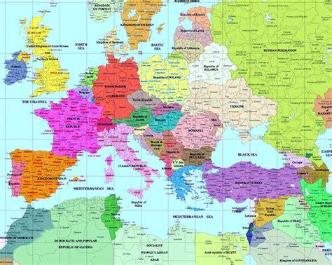 european history maps
