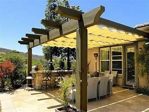 Terrassenüberdachung Günstig Selber Bauen : pergola oder terrassen berdachung selber bauen genie en sie einen k hlen sommer ~ Markanthonyermac.com Haus und Dekorationen