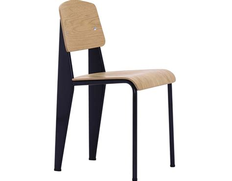 chaise prouvé prouvé standard chair hivemodern com