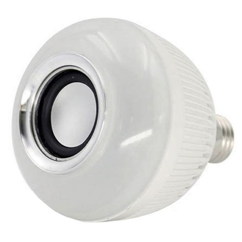 smart bluetooth v3 0 e27 led light bulb sound box
