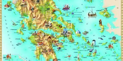 griechenland touristenattraktionen anzeigen griechenland