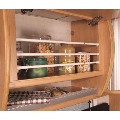protection placard cuisine barre extensible anti rouli placard bateau cing car