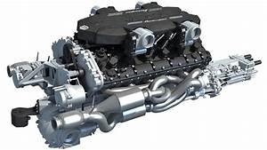 Lamborghini V12 Engine 3d Model