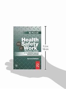 Libro Health And Safety At Work Revision Guide  For The