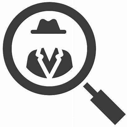 Investigation Detective Icon Crime Investigate Criminal Suspect