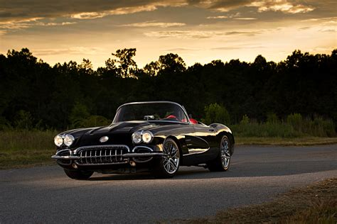 corvette restomoded  perfection