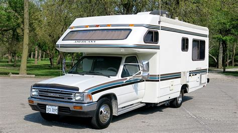Toyota Motorhomes For Sale by 1990 Toyota Odyssey Americana Motorhome For Sale In Morris Il