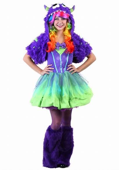Monster Costume Halloween Teen Purple Costumes Teens