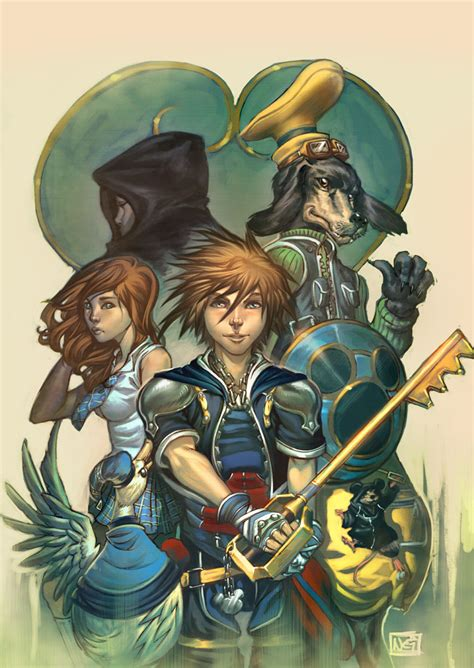 Kingdom Hearts By Toolkitten On Deviantart