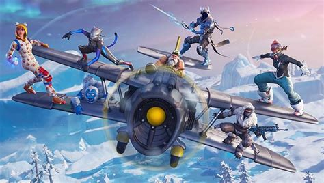 Fortnite V7.0 Patch Notes For Season 7 Are Out; X-4 Stormwing Plane And Cosmetic Wraps