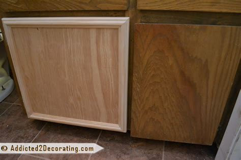 easy way to make own kitchen cabinets bathroom makeover day 3 how to make cabinet doors 9866