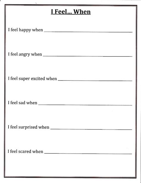 176 Best Images About Feelings & Emotions Group Activities On Pinterest