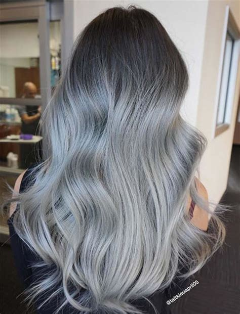 ombre hair    glamorous ombre hair color ideas