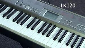 Casio Lk120 Key Lighting Keyboard