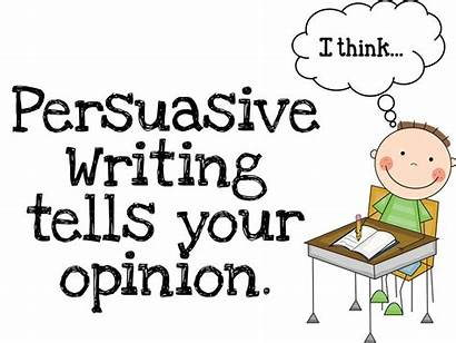 Persuasive Clipart Persuade Writing Clip Opinion Posters