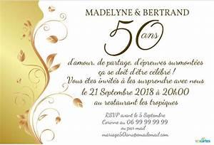 Faire Part Anniversaire 50 Ans : faire part 60 ans de mariage oq28 jornalagora ~ Edinachiropracticcenter.com Idées de Décoration