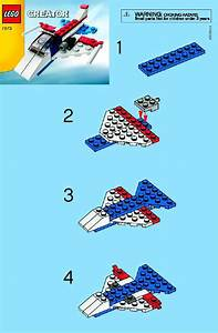 Lego Plane Set Instructions 7873  Creator