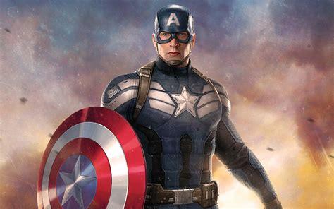 captain america artwork wallpapers wallpapers hd