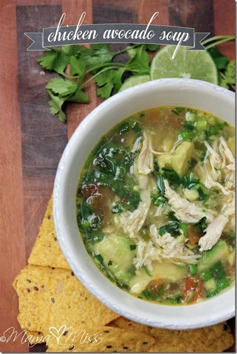 variety soup recipes chicken and avocado soup recipe dishmaps