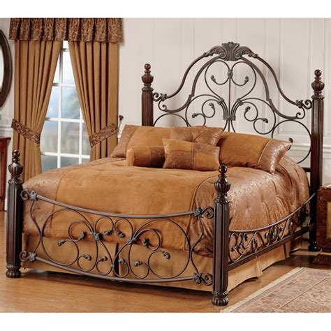 wood and wrought iron bedroom furniture fancy iron beds fancy iron beds