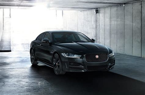 jaguar reveals black edition models   holiday season
