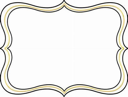 Scroll Clip Frame Borders Border Elegant Transparent
