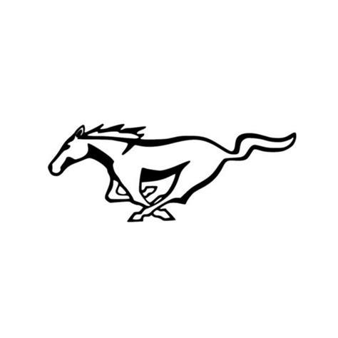 mustang horse logo ford mustang logo vinyl decal sticker 5 0 gt horse classic