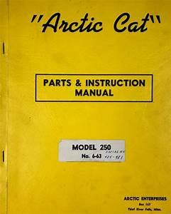 Vintage Arctic Cat Parts Diagrams