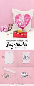 Bügelbild Selber Machen : so kannst du deine eigenen lettering b gelbilder selber ~ Watch28wear.com Haus und Dekorationen