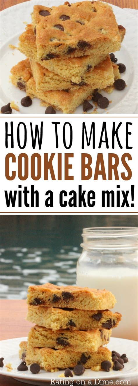 how to make cake mix how to make cookie cake with cake mix eating on a dime