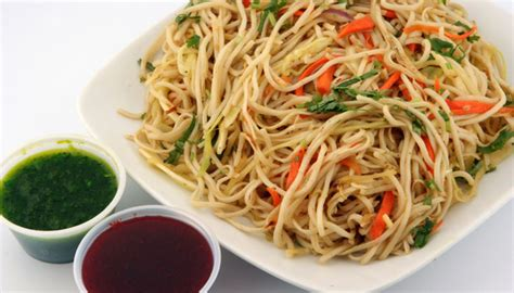 hakka cuisine recipes recipe vegetarian hakka noodles