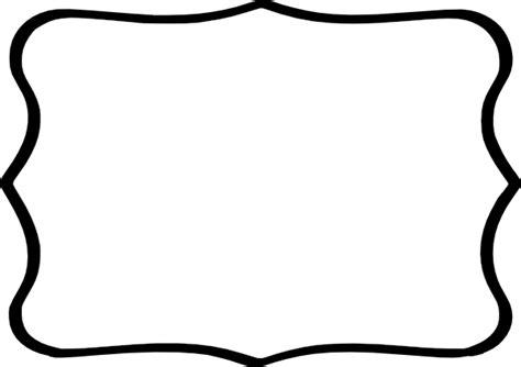 corner brackets black frame white center clip at clker com vector