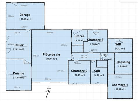 plan maison plain pied 6 chambres avis plan maison de plain pied 140m 16 messages
