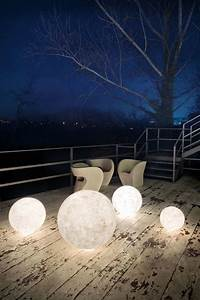 Outdoor floor lamps to use in a deck or patio modern for O moon outdoor floor lamp