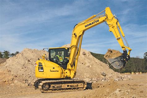 komatsu compact excavators  spec guide compact equipment