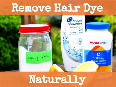 How To Naturally Remove Hair Dye With Baking Soda, Vitamin