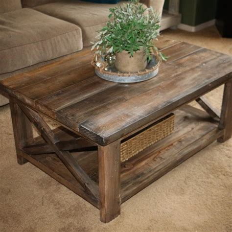 best 25 rustic end tables ideas on farmhouse