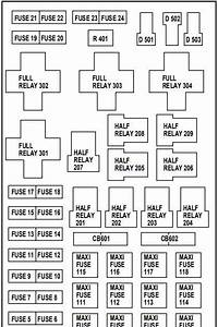 2004 Ford Expedition Fuse Box Diagram
