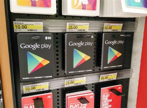 buy google play gift cards android central