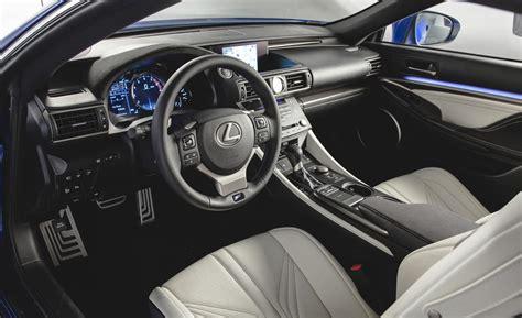lexus rc interior lexus rc f performance coupe present at detroit