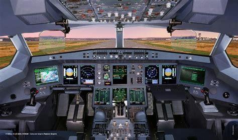 airbus  flightdeck
