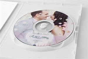 Elegant Wedding DVD / CD Cover Template by DogmaDesign ...