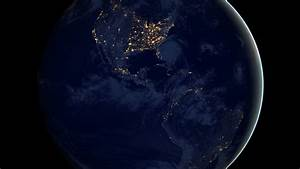 Earth Wallpaper, Space: Earth, planet, space, night